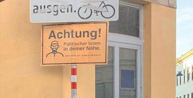 Avusturya'da Müslümanlara ait kurumların 'fişlendiği harita' ırkçı saldırıları artırdı