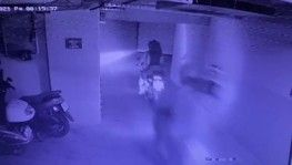 Kağıthane'de 4 motosiklet hırsızı kamerada