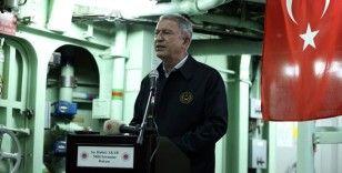 Milli Savunma Bakanı Akar'dan 'ordubozan' tepkisi