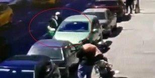 Şişli'de sürücünün bir anlık ihmali pahalıya patladı
