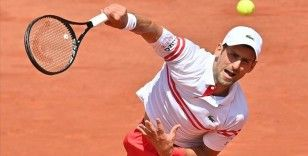 Fransa Açık'ta Djokovic, rakibi Musetti'nin 5. sette sakatlanması sonrası çeyrek finale çıktı