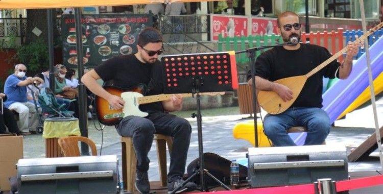 Başkentte pandemide sahne alamayan sanatçılara konser desteği