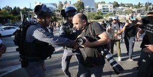 Son aylarda gerginliğin tırmandığı Kudüs'teki olayları dünyaya duyuran gazeteciler İsrail'in hedefinde