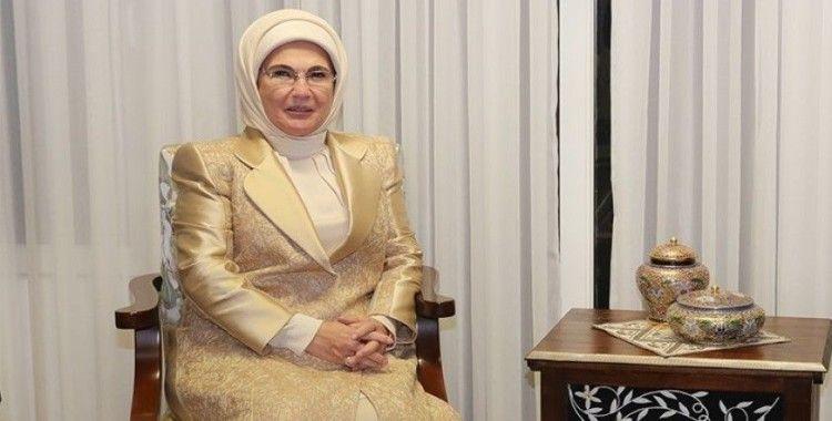 Emine Erdoğan: 'Teknolojik ilerlemeyle eş zamanlı olarak manevi ilerleme sağlayamıyoruz'