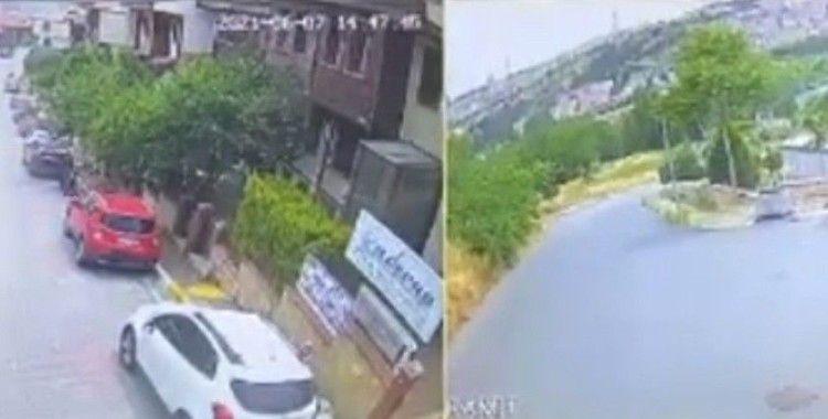 İstanbul'da feci olay: Taksici köpeği ezip kaçtı