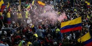 Kolombiya'da vergi reformu karşıtı protestolarla başlayan gösterilerde ölü sayısı 58'e yükseldi