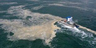 Marmara Denizi'ndeki müsilaj temizliği çalışmaları internetten anlık takip edilebilecek