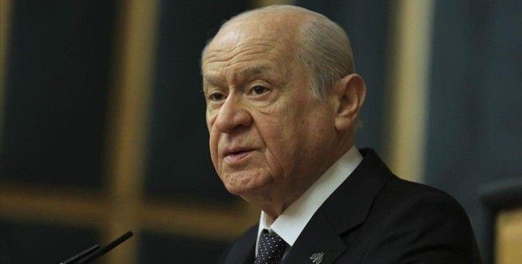 MHP Genel Başkanı Bahçeli: 'Marmara Denizi Eylem Planı'nı destekliyoruz