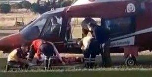 8 yaşındaki çocuğa hafriyat kamyonu çarptı