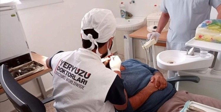 Yeryüzü Doktorları son 5 ayda Tel Abyad'da 8 binden fazla sivile sağlık hizmeti sundu