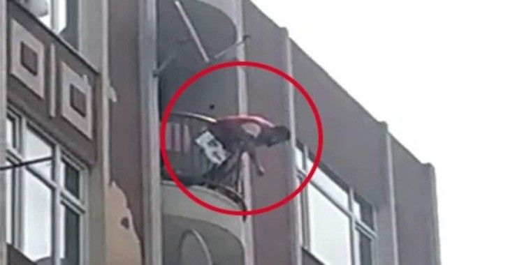 Kadını önce dövdü, sonra intihara kalkıştı