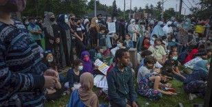 Kanada'daki saldırıda hayatını kaybeden aile için anma töreni