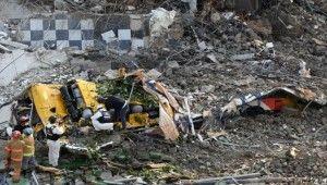 Güney Kore'de 5 katlı bina devrildi, 9 ölü, 8 yaralı