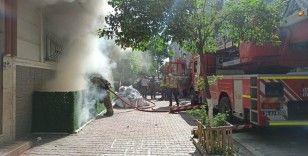 Esenyurt'ta bir kadın evini yaktı, arkasına bakmadan gitti