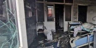 Rusya'da pandemi hastanesinde yangın: 3 ölü