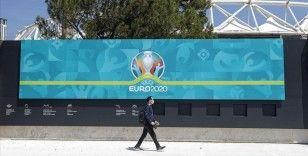 EURO 2020'nin açılış maçı için Roma Olimpiyat Stadı'nda son hazırlıklar yapılıyor