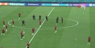 A Milli Takım, EURO 2020 öncesi son idmanını yaptı