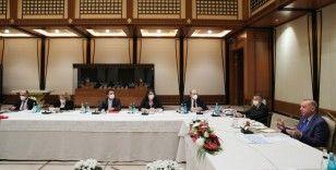 Cumhurbaşkanı Erdoğan, müsilaj sorununa ilişkin özel toplantıya başkanlık yaptı