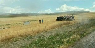 Ankara'da yangına giden itfaiye aracı devrildi: 1'i ağır 3 yaralı