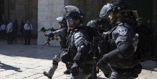 İsrail polisi, provokasyonda bulunan aşırı sağcı milletvekiline tepki gösteren Filistinlilere müdahalede bulundu