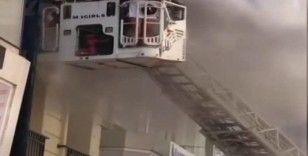 İstanbul'da otelin saunasında yangın