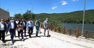 Zinav gölü turizme kazandırılıyor