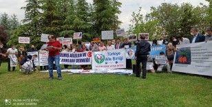 Nafaka mağdurları Ankara'da