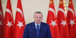 Erdoğan, Kilis Yukarı Afrin Barajı ve İçmesuyu İsale Hattı Açılış Töreni'ne canlı bağlandı