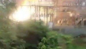 Porto Riko'da trafo merkezinde patlama