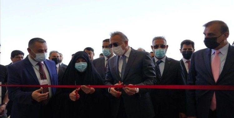 Irak'ta Türk şirketi tarafından inşa edilen hastane hizmete açıldı