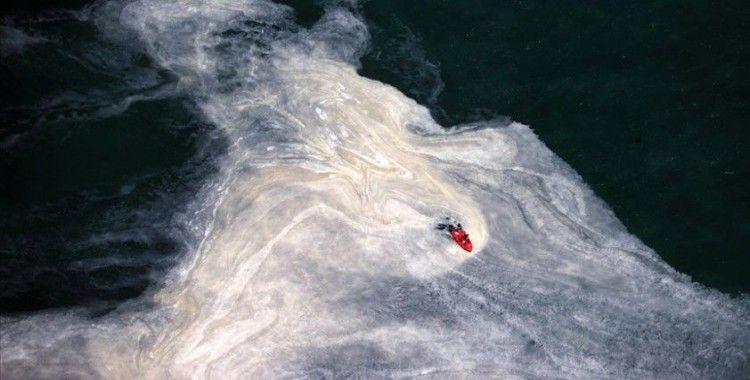 Marmara Denizi'nden 4 günde 1197 metreküp müsilaj temizlendi