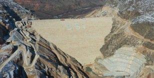 Silvan Barajı'nın ön yüz beton imalatlarına başlandı