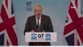 İngiltere'de G7 Liderler Zirvesi sona erdi
