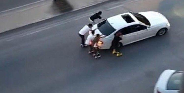 Patenli gençler kazaya davetiye çıkardı