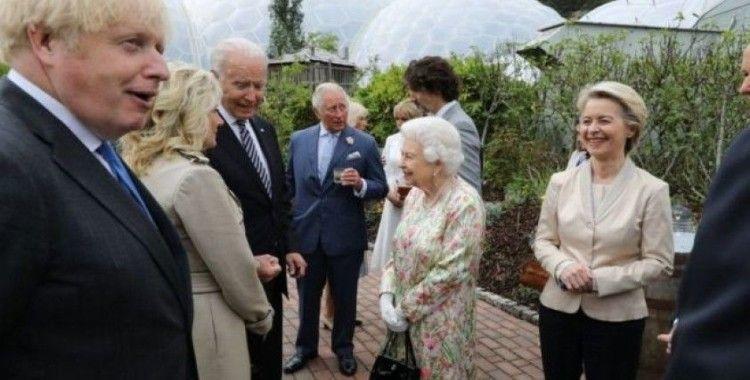 ABD Başkanı Biden, İngiltere Kraliçesi II. Elizabeth ile bir araya geldi