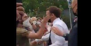 Macron'a tokadın arkasında aşırı sağın parmak izleri çıktı