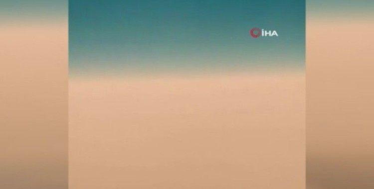 Kuveyt'i kum fırtınası vurdu
