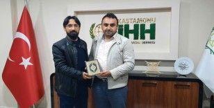 Kastamonu İHH'da yeni Başkan Kadir Horuz