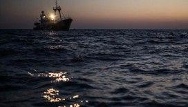 Tunus açıklarında 114 düzensiz göçmen yakalandı