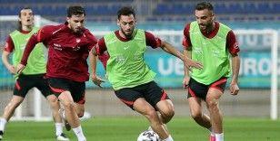 A Milli Futbol Takımı Galler maçı hazırlıklarını sürdürdü
