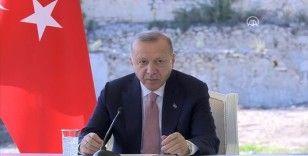 Cumhurbaşkanı Erdoğan: Artık istiyoruz ki bölge suhuletle, barış içerisinde yaşanan bir bölge olsun