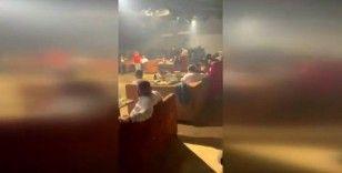 Beyoğlu'nda eğlence mekanlarına korona virüs baskını kamerada