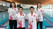 Paletli Yüzme Genç Milli Takımı dünya şampiyonu oldu