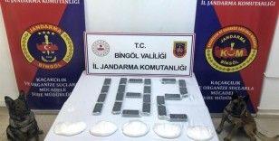 Bingöl'de 2 milyon 200 bin TL değerinde uyuşturucu ele geçirildi