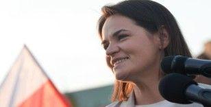 Rusya İçişleri Bakanlığı, Tihanovskaya'yı devletlerarası arananlar listesinden çıkardı