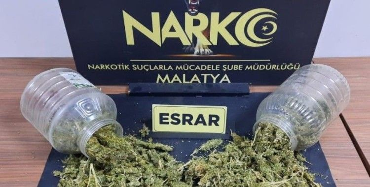 Malatya'da torbacı operasyonu: 7 tutuklama