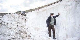 Kars'ta 'kar panterleri'nin mesaisi haziran ortasında sona erdi