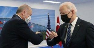 ABD Başkanı Biden: Cumhurbaşkanı Erdoğan ile toplantımızla ilgili iyi şeyler hissediyorum