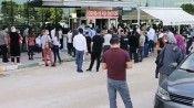 Gemlik ve Mudanya'da aşı kuyruğu
