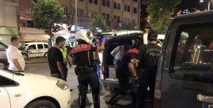 Polisten kaçtılar kısa sürede yakalandılar